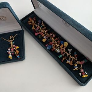 Disney Classic Collectors bracelet and necklace